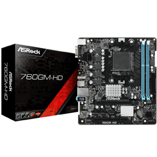 Placa-Mae ASRock 760GM-HD