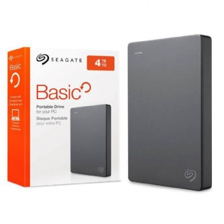 HD Externo Portatil Seagate Basic 4TB USB 3.0
